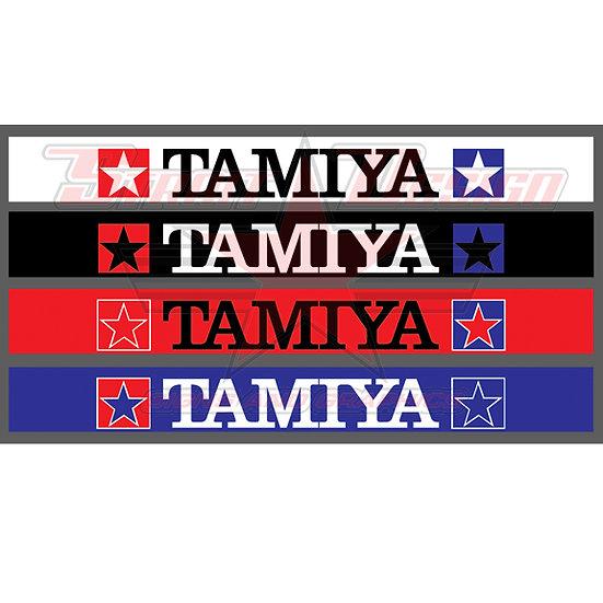 TAMIYA WINDSHEILD BANNER