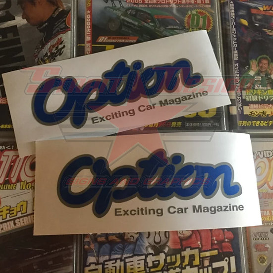 Option Mag Stickers