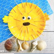 Puffer Fish Craft