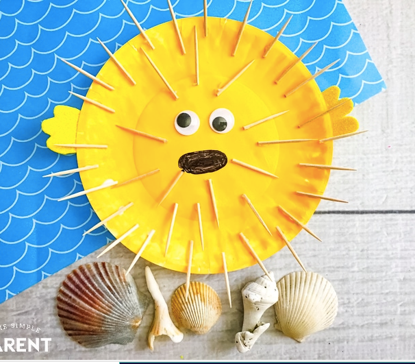 Puffer Fish Craft