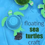 Floating Sea Turtle Craft
