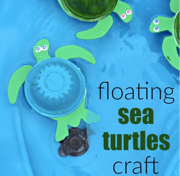Floating Sea Turtle Craft