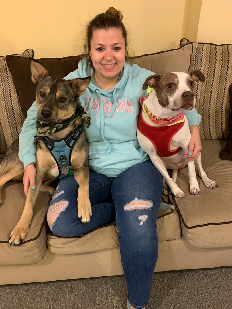Miss Danielle V's babies Bailey & Jake <3