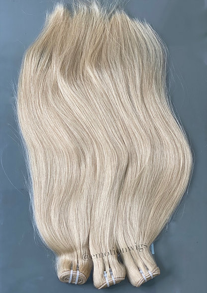 Raw Vietnamese Silky Straight Blonde