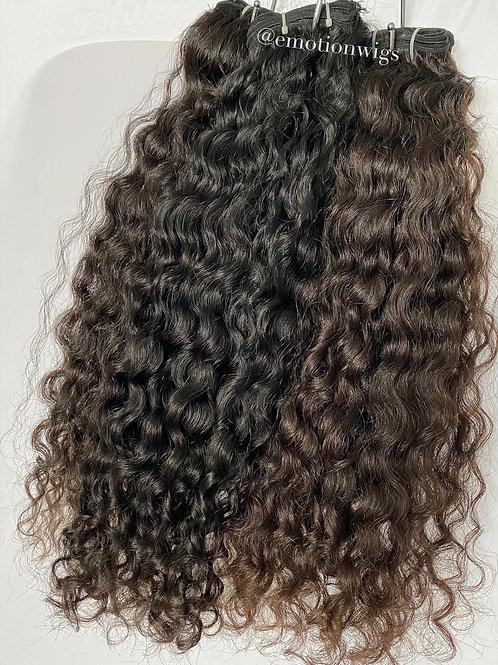 Raw Bohemian Curly