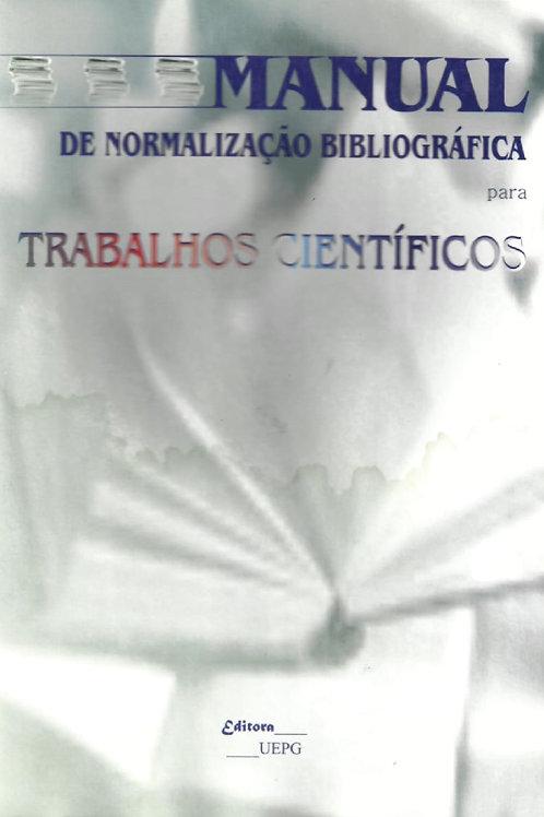 MANUAL DE NORMALIZAÇÃO BIBLIOGRÁFICA