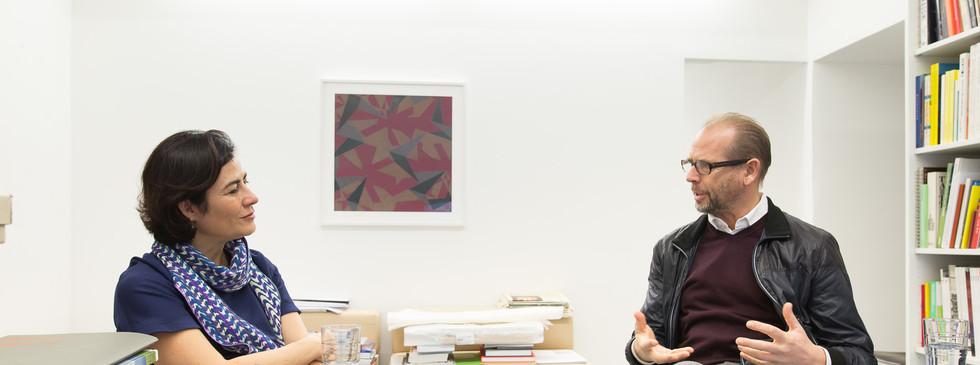 Martin Janda, Galerie Martin Janda im Gespräch mit Judith Hecht.