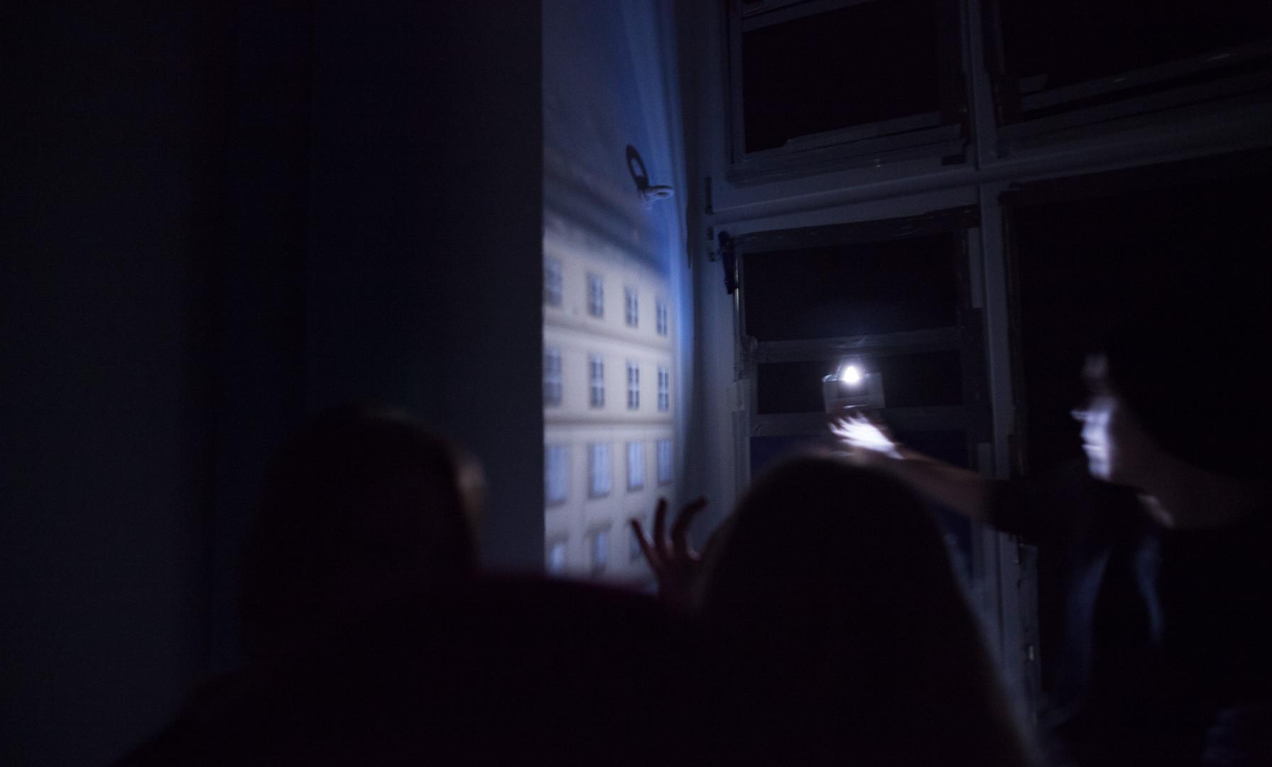 we are in the pinhole camera , camera obscura .