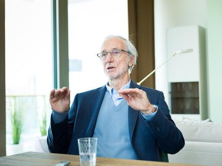 Renzo Piano im Gespräch mit Susanna Bastaroli für diePresse.