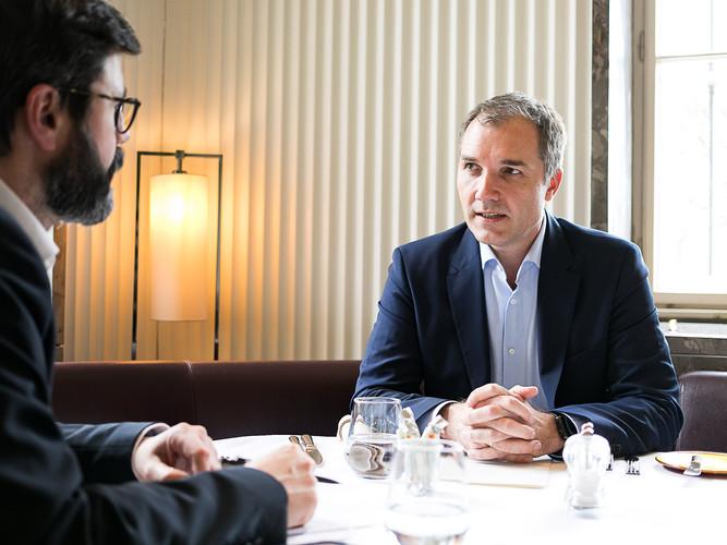 Horst Leitner im Interview mit Michael Köttritsch