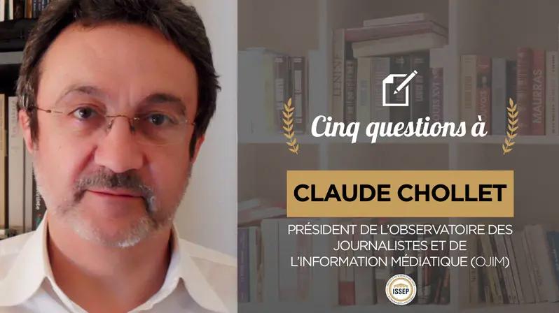 Claude Chollet répond aux questions de l'ISSEP