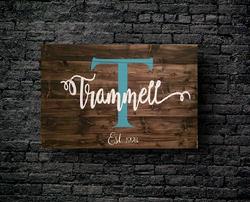 1. MONOGRAM TRAMMELL