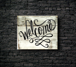 74. WELCOME