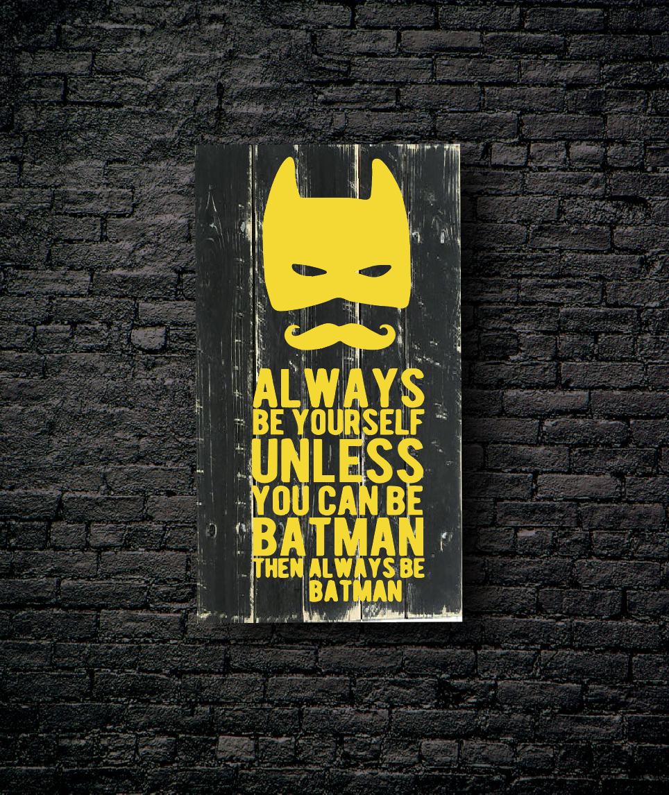 135. TEEN: ALWAYS BE BATMAN