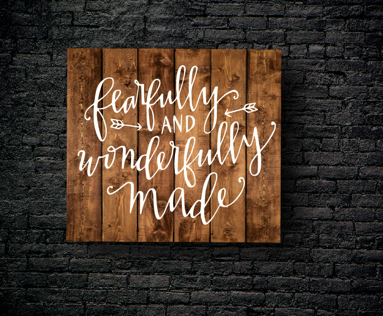 27. FEARFULLY MADE