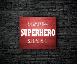 110. KID: SUPERHERO SLEEPS HERE