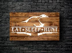 62. EAT SLEEP HUNT DUCK