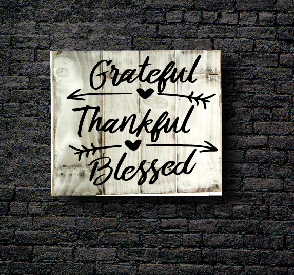 28. GREATFUL & THANKFUL