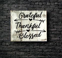 28. GREATFUL & THANKFUL