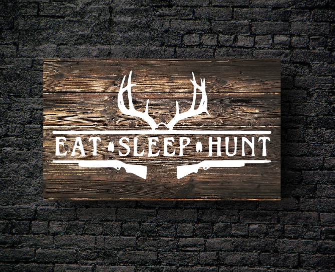 59. EAT SLEEP HUNT DEER
