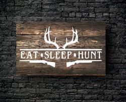 59. EAT SLEEP HUNT DEER