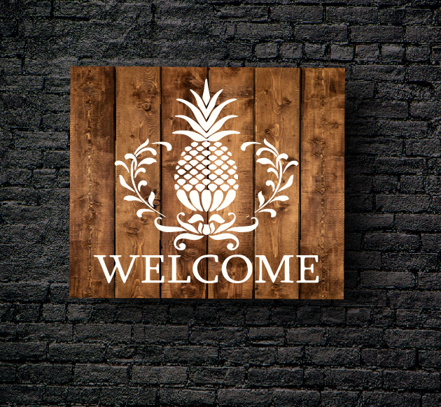 44. PINEAPPLE WELCOME