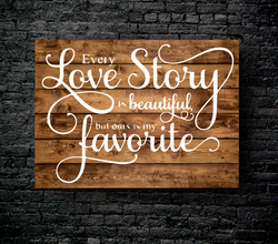 31. OUR LOVE STORY