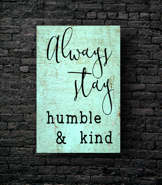 14. HUMBLE & KIND