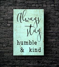 14. HUMBLE & KIND