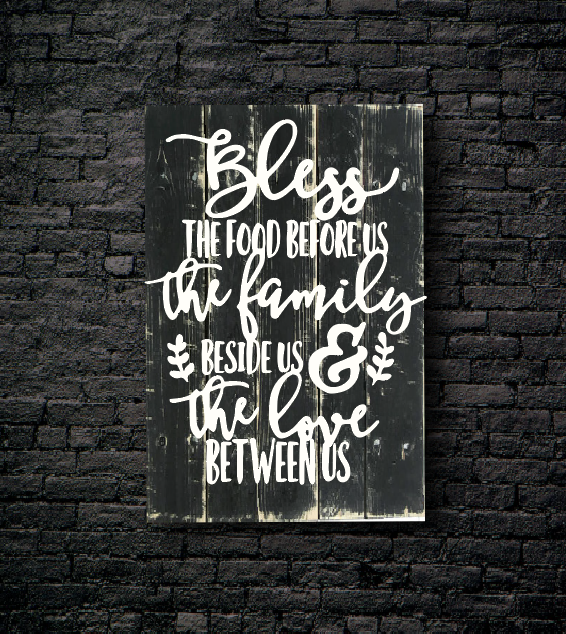 17. BLESS THE FOOD PRAYER