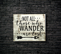 26. NOT ALL WHO WANDER ARE LOST