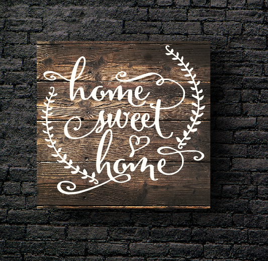 12. HOME SWEET HOME
