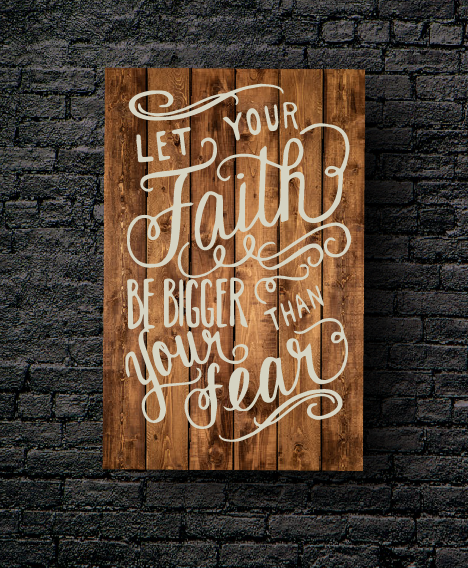 68. FAITH BIGGER THAN FEAR