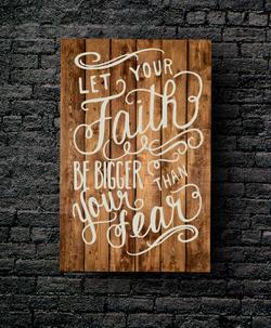 68. FAITH BIGGER THAN FEAR