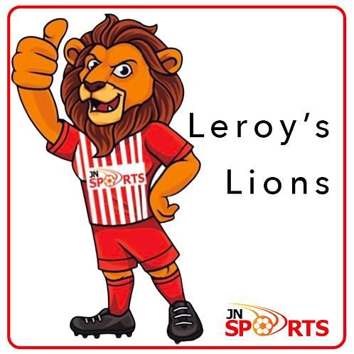 Leroy's Lion's Registration Fee (aged 5-6)