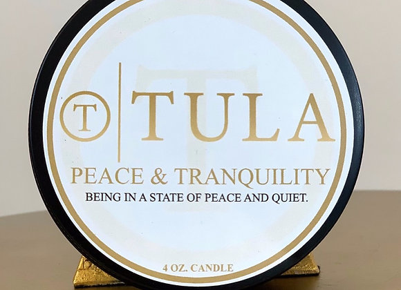 Peace & Tranquility Candle