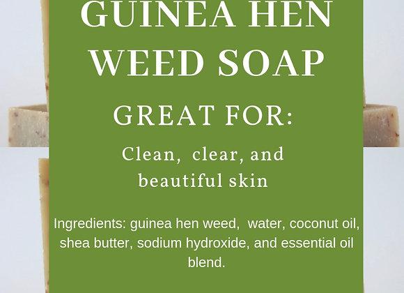 Guinea Hen Weed Soap