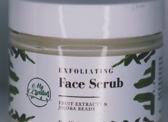 Exfoliating Face Scrub w/ Fruit Extracts and Jojoba Beads