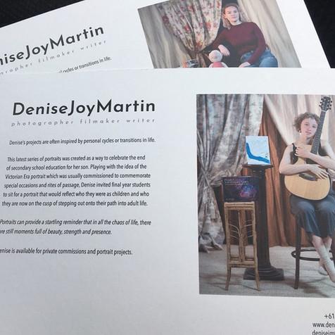 Teen Portraits by Denise Joy Martin