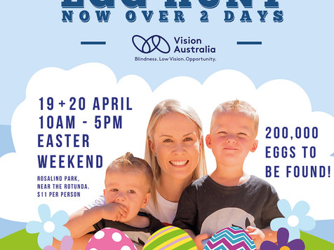 Vision Australia Easter Egg Hunt 2019