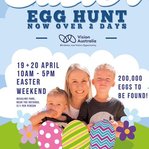 Vision Australia Easter Egg Hunt 2019