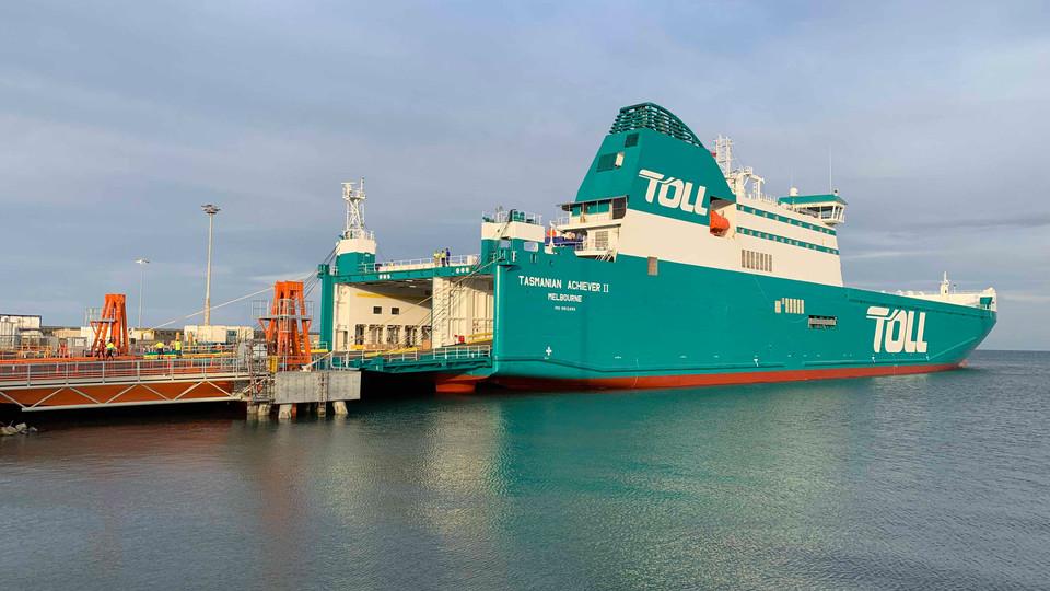 TOLL SHIPPING - BURNIE WHARF UPGRADE, TAS
