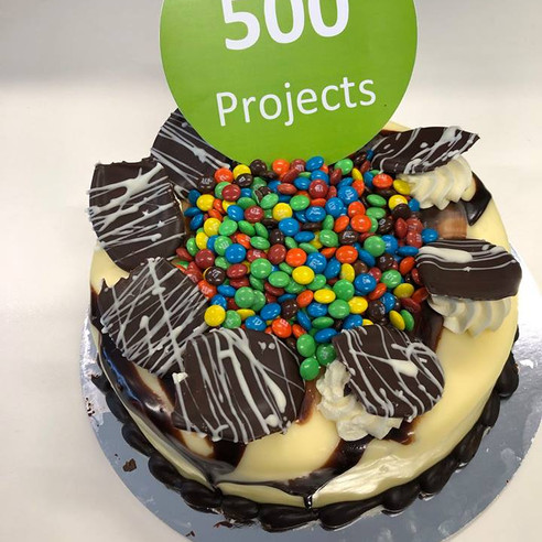 500 Projects!
