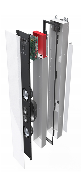 DSP520 AND DSP640 IN-WALL LOUDSPEAKERS DISCREET, UNOBTRUSIVE PERFORMANCE