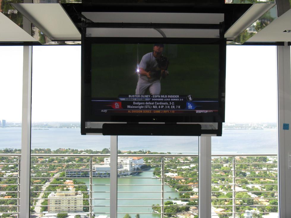 Celing Mount TV Lift- Perfect Design -So