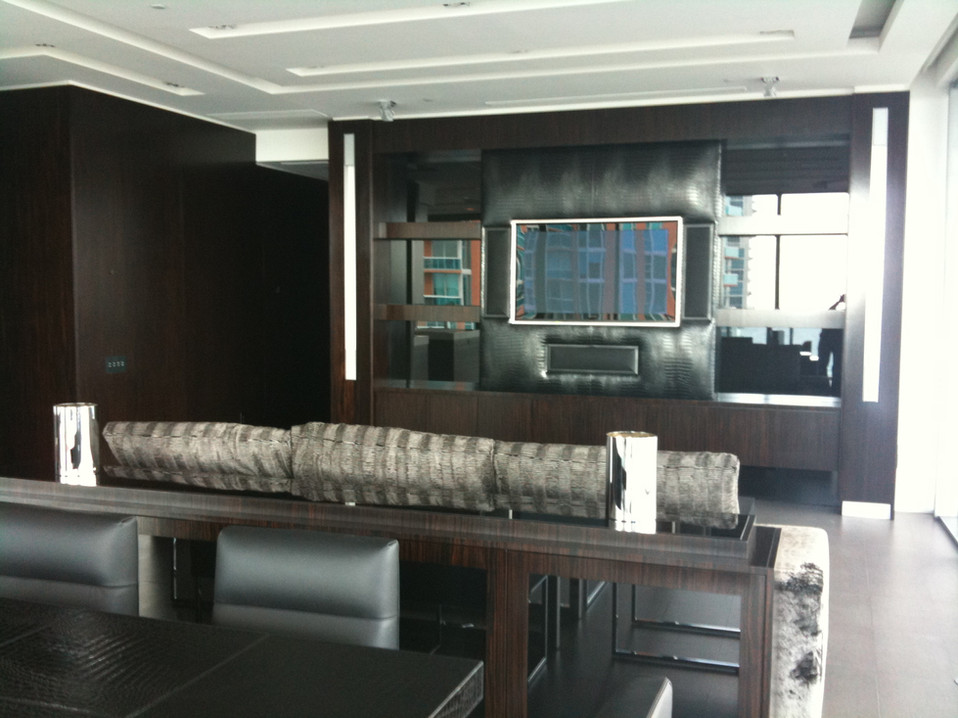 Flush Mount TV Installation- Miami Beach