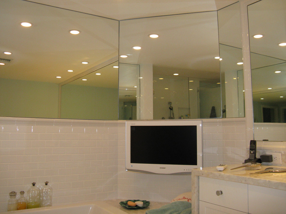 Master Bath TV Installation- Palm Beach