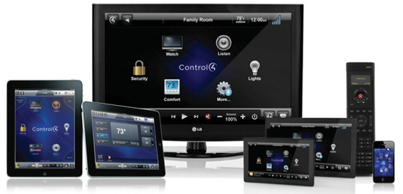 Control 4 Touch Screens
