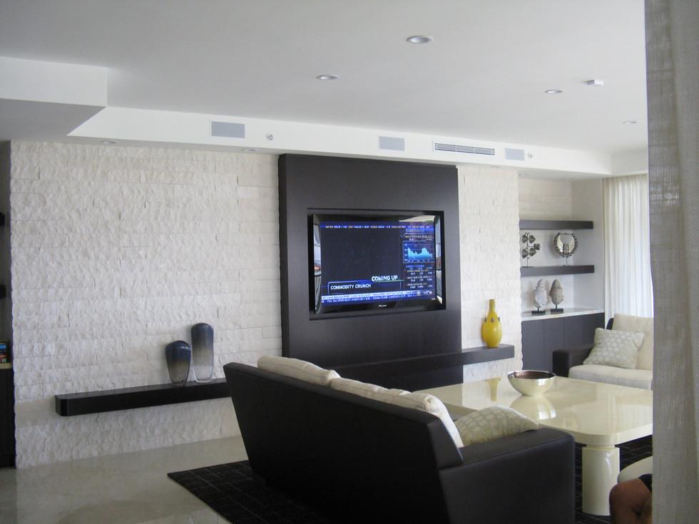 Family Room 60_ TV Installation Fisher I