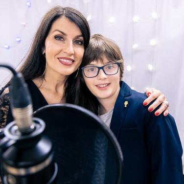 Special Guest Monika Ballwein mit Sohn Noah
